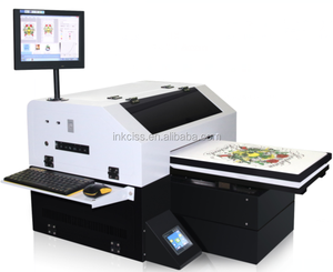 New upgraded DTG T shirt Printer in digital printers with Epson DX5 printer head print for A3 size