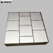 High Alumina Ceramic Tiles Bonded Wear&Impact Panel
