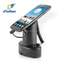 2015 top sale magnetic display stand with pull box retractor, magnetic cell phone holder