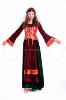 Queen party cosplay Arabic adult princess fancy dress