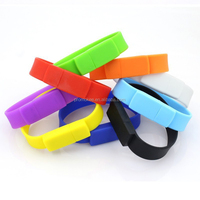 silicone wristband usb flash drive 8gb