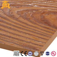 Walnut wood color Texture Mineral Fiber cement siding board