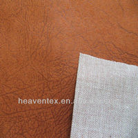 100% polyester embossed suede fabric for sofa for curtain