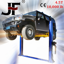 Latest car lifts for scooters 4500Kg two post clear floor hydraulic car lift L-2C-45S