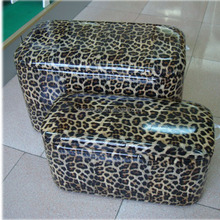 new arrived wholesale decorative handmade Synthetic leather living room storage bench sitting stool