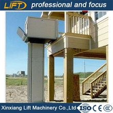 Home outdoor wheelchair platform lift with good price