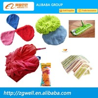Plastic Pole Material and Polyester Mop Head Material microfiber mop pad