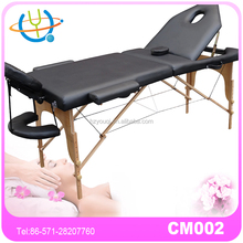 Thai body best choice wooden massage table/beds