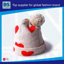 Dison popular kids crochet hat with tassel keep warm in winter with wholesale price