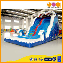 AOQI wonderful products inflatable ocean slide commercial use outdoor or indoor inflatable slide for amusement