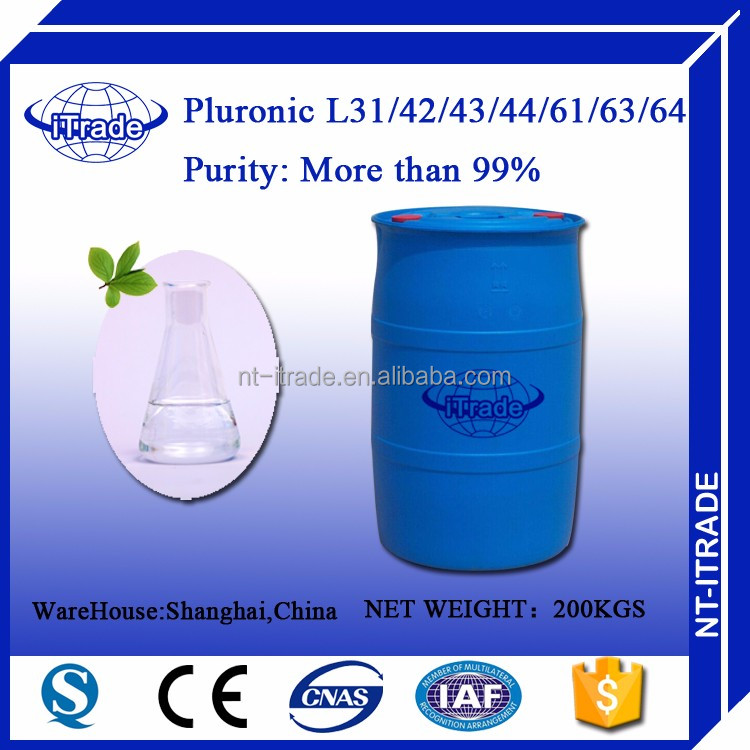 Free sample Surfacant Pluronic Polyoxyethylene-polyoxypropylene Block Copolymer <strong>L</strong> 43