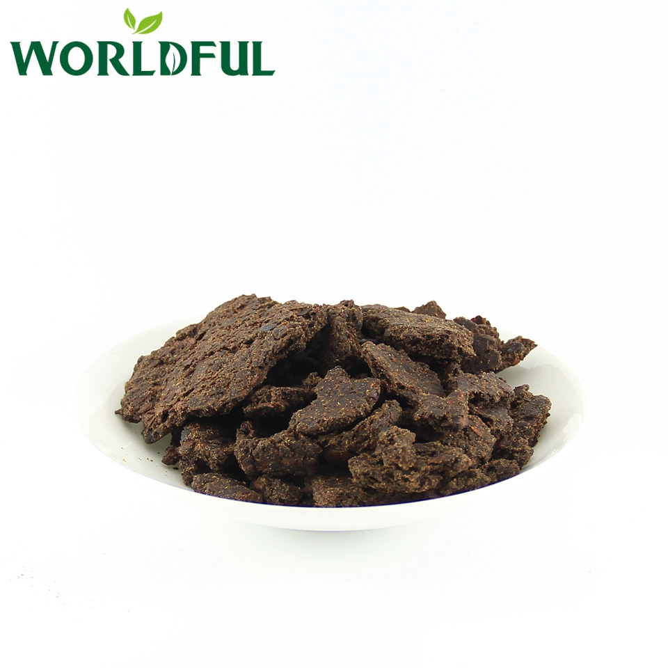 Agriculture and aquaculture fertilizer Black Tea seed meal Tea seed cake