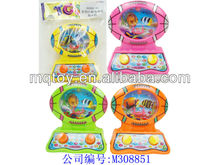 Lovely rugby computer water game toy for kids water game toy