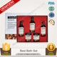 Most Hot Sale Priavte label Bubble Bath Spa Gift Set