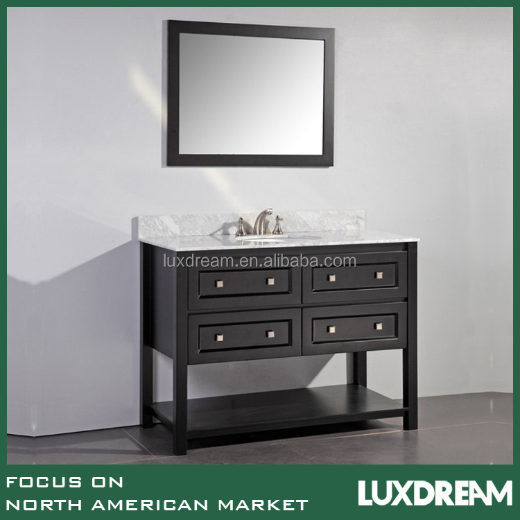"48"" espresso Virtu USA bathtoom vanity furniture"