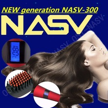 High Quality New Style LCD screen Electric Hair Brush Hair Straightener Brush