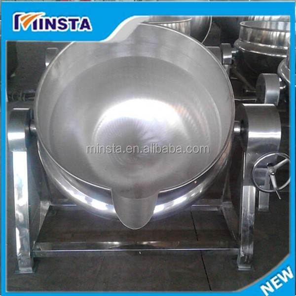 Industrial stirring sandwich cooking pot with lower price