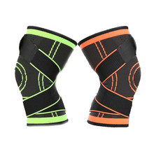 Adjustable Bandage Pressurization hinged knee brace Support sports compression knee brace