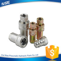 2016 New design cheap ISO7241-A Close Type quick couplings rectus