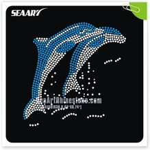 Dolphin Rhinestone Transfer Template Make Your Own T Shirt Wholesale Clothing