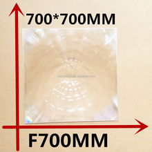 Fresnel lens 700*700 mm long focal length 700 mm Fresnel Lens Solar energy collecting lens big fresnel lens
