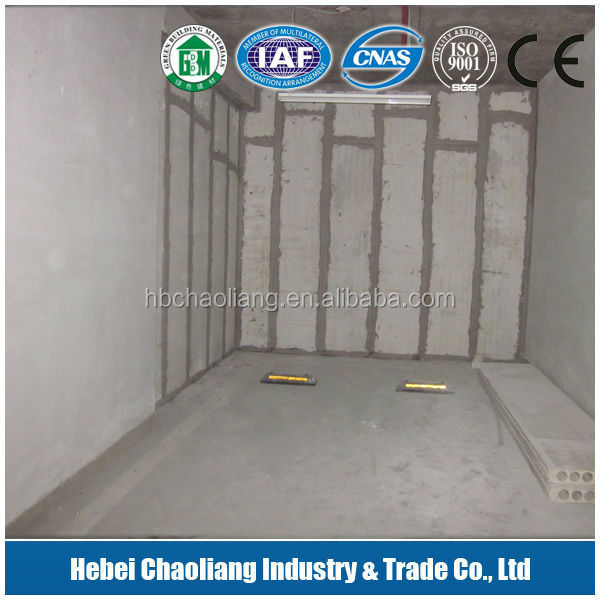 Drywall system partition / Heat insulation interior mangesium fireproof board