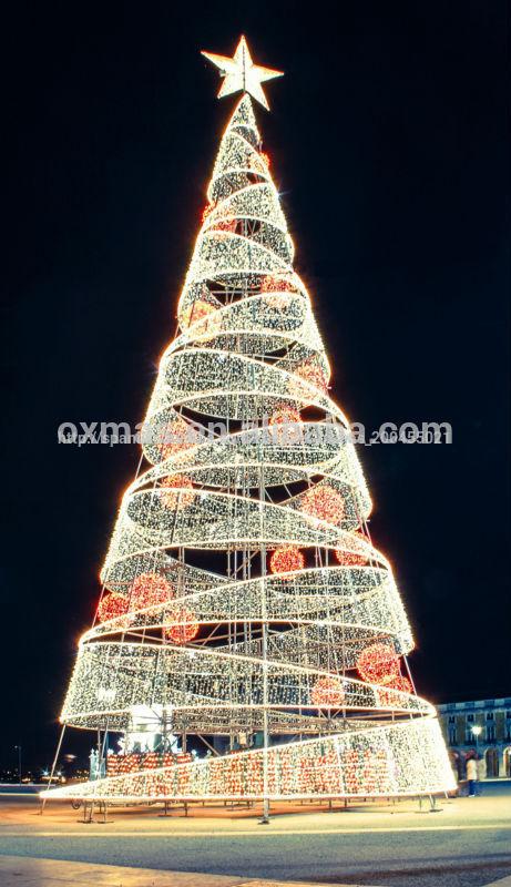 Centro comercial decoraci n de led luces de arbol para - Luces led para arbol de navidad ...