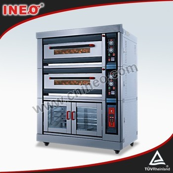 Easy Moving Heavy Duty 3 Deck Bakery Oven/Baking Machine Price