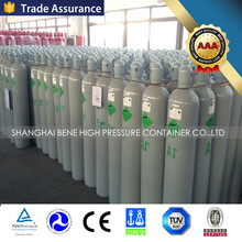 High quality! CE/DOT/ISO/EU Standard portable seamless steel Argon gas cylinder