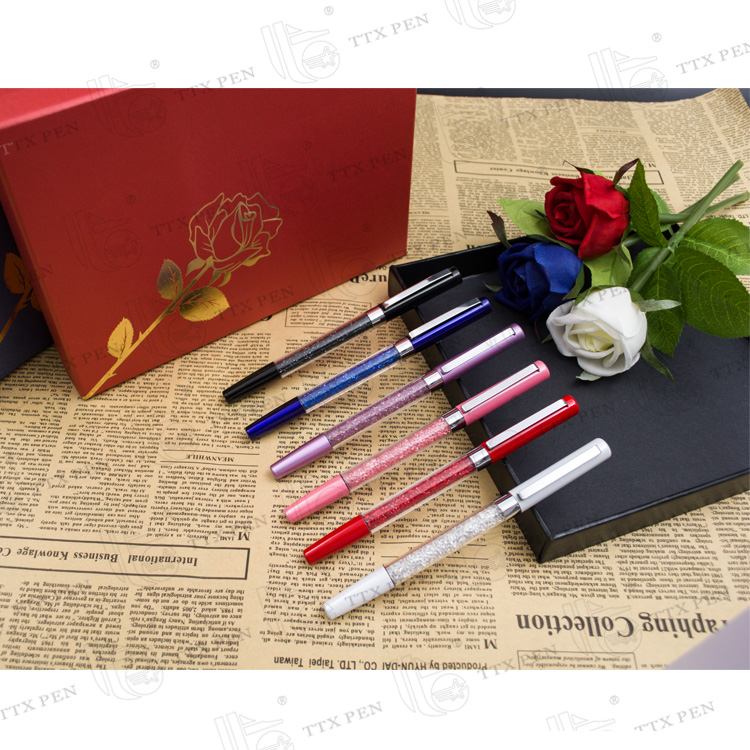 teacher's souvenirs pen,wedding souvenirs crystal pen