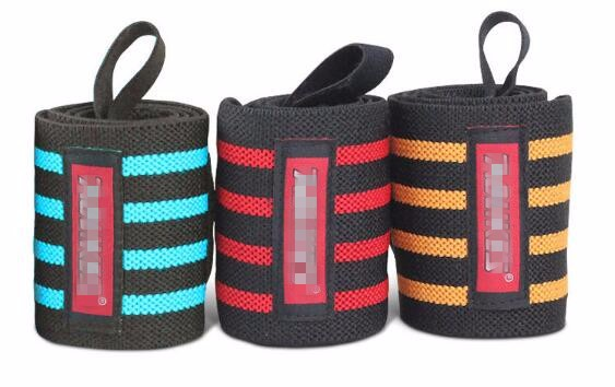 Professional Training Wrist Wraps Weight Lifting Wrist Wraps