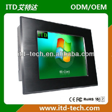 17 inch industrial touch screen panel pc