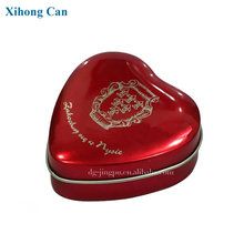 Decorative Heart Shaped Metal Wedding Favors Candy Boxes