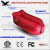 Inflatable Lounger With Carry Bag Securing