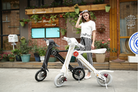 ONLY 18kg two wheel balance scooter LEHE K1 premium foldable e-bike,Smart Folding Electric Scooter for Adult