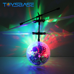 Fliegender Ball Hubschrauber 2017 New Infrared Sensor Hand Induced Magic Flying Ball Helicopter Toys