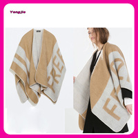 Latest!!! double-faced heated shawl blanket, Big Shawl for girls