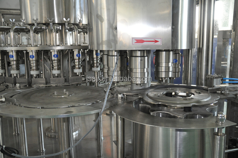 mineral water production line/milk filling machine/milk processing