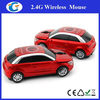 Mini usb optical mice 2.4ghz wireless fashionable car mouse