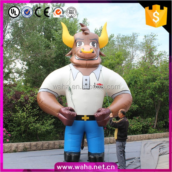 5m Hot Sale Giant Inflatable Cow Animal Model For Advertising