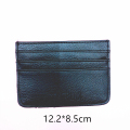 Men Genuine Leather RFID Slim Wallet Credit Card ID Holder