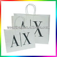2013 High Quality Kraft Paper Bag with Twisted Paper Handle