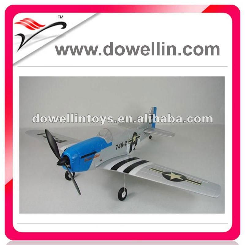 4CH Mustang P51 EPS RC MODEL PLANE