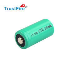 Original factory rechargeable battery CR123 / 17335 3.0 V 1100 MAH li-ion battery for flashlight, car , mobile phone, toy!!!