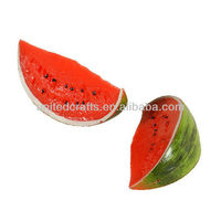 fake watermelon/artificial watermelon,fake fruit for home decoration ,fake vegetable for party decoration