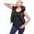 lady latest comfortable good quality ruffle fabric vest