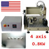 CNC ROUTER ENGRAVER 4 AXIS MILLING METAL WOOD CUTTING MACHINE ENGRAVING 3040T