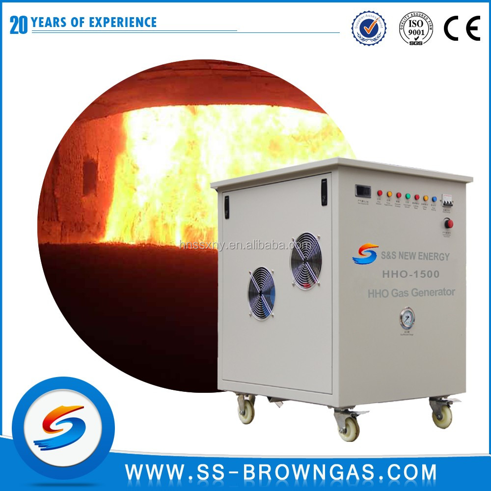 HHO hydrogen generator for heating boiler hot water booster pum
