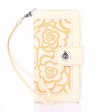 Mobile phone accessories, Flower Wallet Flip Mobile Phone Case Phone Cover For Iphone