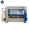 120 tons 6 layer full automatic plywood production line with hot press